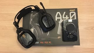 New 2015 Astro A40 TR Edition Unboxing! (Newest Headset)