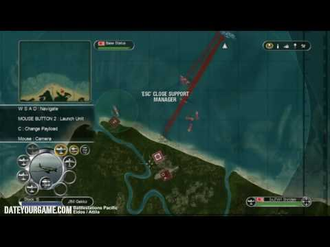 Battlestations Pacific Walkthrough 8 Defense of Guadalcanal Gameplay HD