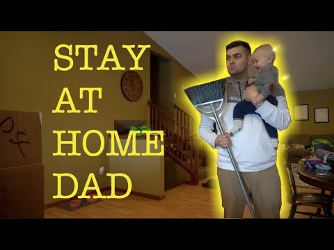 My First Day As A Stay At Home Dad!
