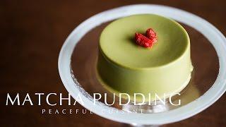 Matcha Pudding (raw vegan) ☆ 抹茶プリンの作り方