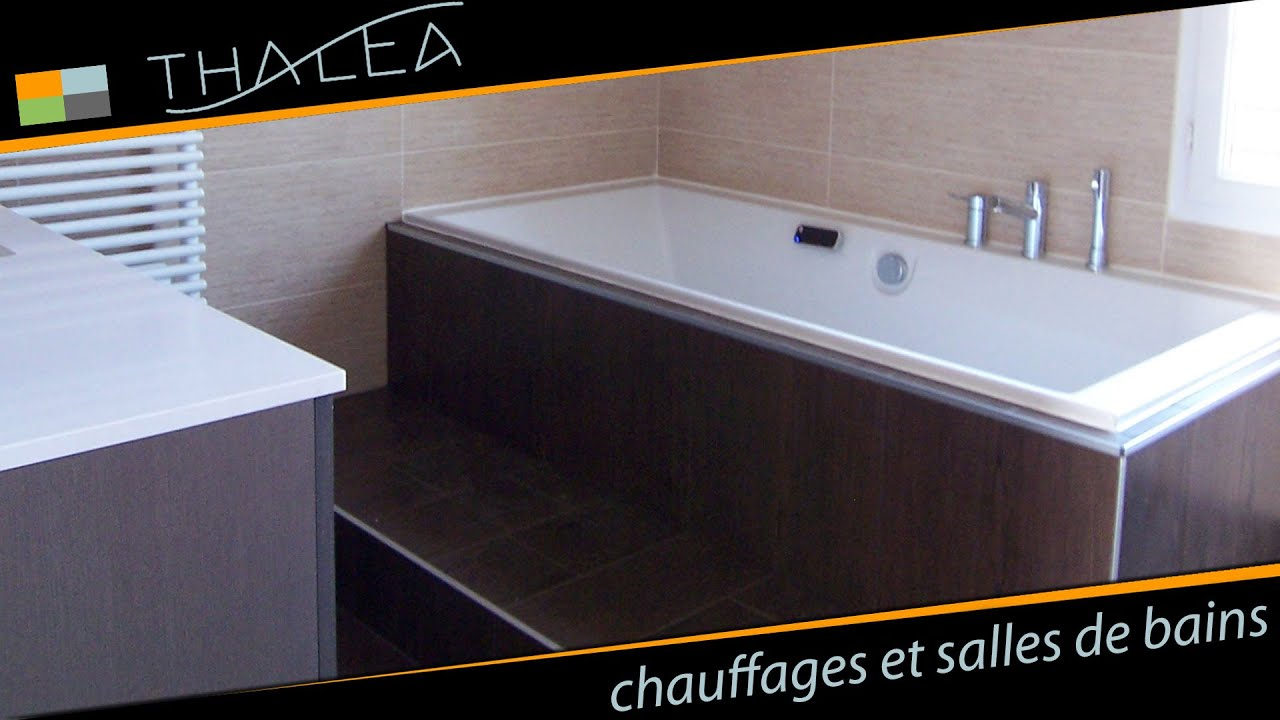 thalea salle de bains baignoire baln o et douche l 39 italienne youtube. Black Bedroom Furniture Sets. Home Design Ideas