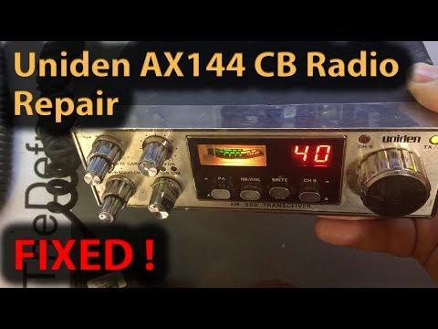 #269 Uniden AX144 CB Radio Repairs (SN:216)