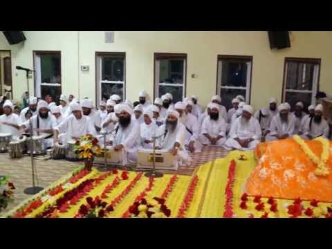 Aarti at Gurdwara Nanaksar Houston Texas