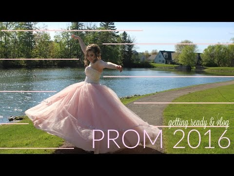 My senior prom experience♥ Getting ready...