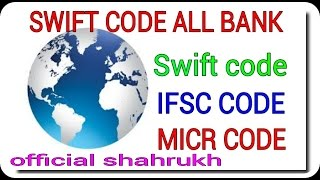 swift code in india Swift Code local banks in india MICR Code Swift Code,IFSC Code hindi urdu tips