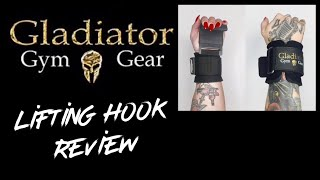 Gladiator Gym Gear Lifting Hooks Review