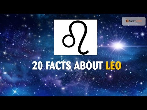 20 Amazing facts about LEO Zodiac Sign | The Insider Story