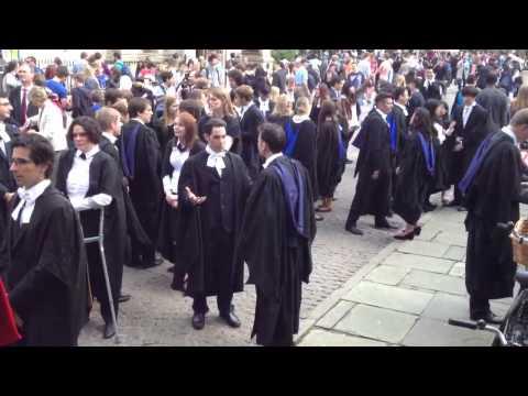 Darwin College Cambridge Graduation July 2012