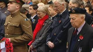 ARMISTICE DAY: Britain remembers war dead