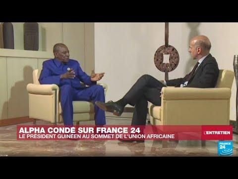 """Alpha Condé sur France 24 : """"L'Afrique doit parler d'une seule voix"""""""