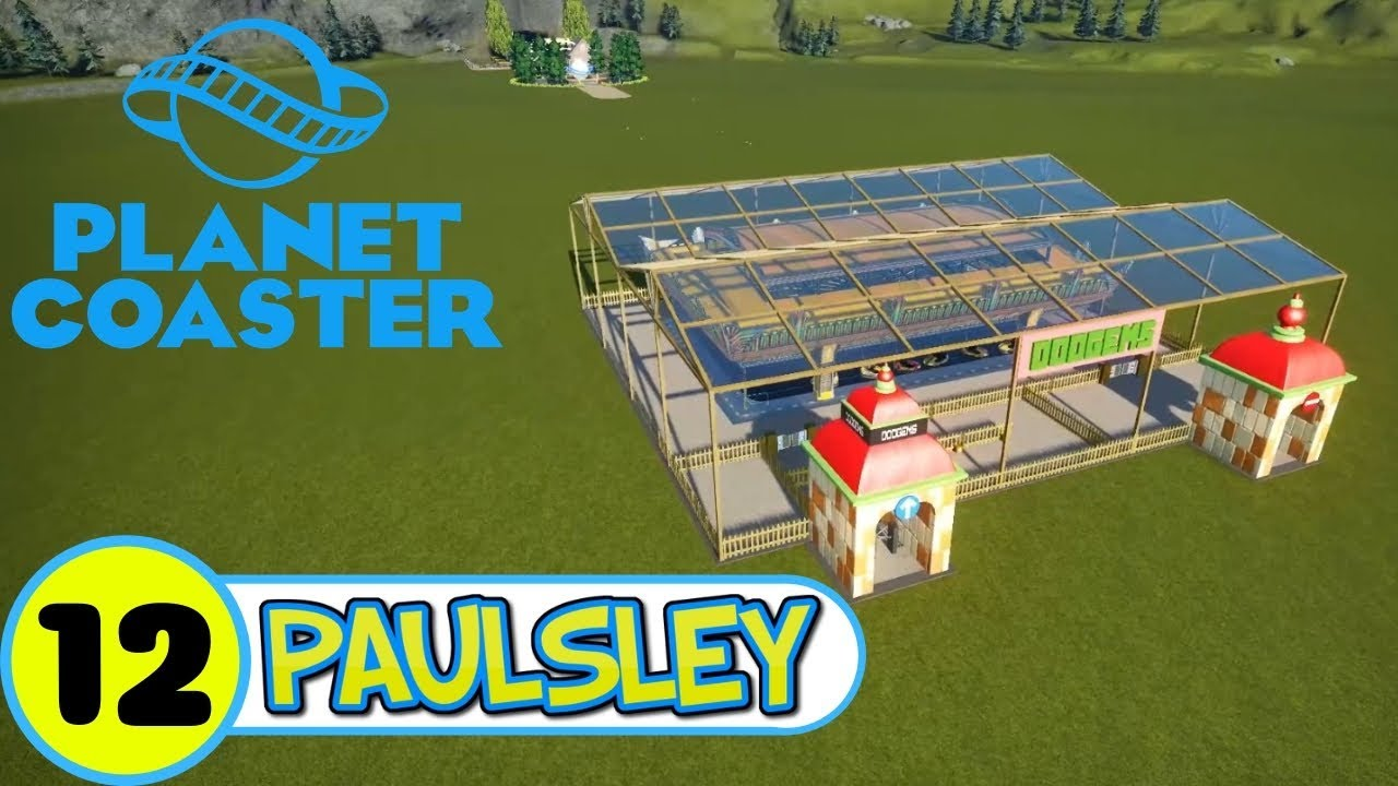 🎢 RCT2 Dodgems style   Speed build   Let's play Planet Coaster