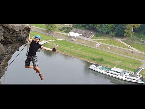 Klettersteig Decin : Via ferrata klettersteig guide průvodce instruktor climbing youtube