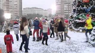 Как снимали «Ёлки» в центре Екатеринбурга