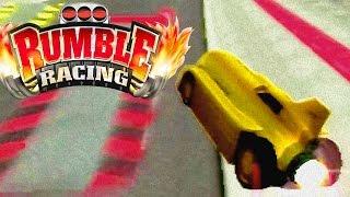 Rumble Racing (PS2) #13 - EA Stunt Cup (No Mercy Gameplay)