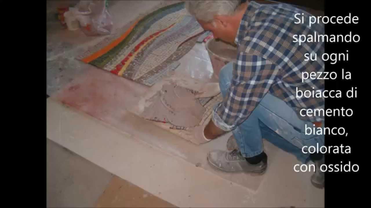 Come Costruire Un Mosaico un tappetodi mosaico - a mosaic carpet