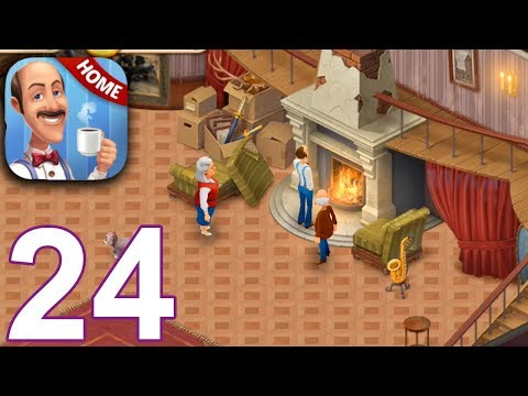 HOMESCAPES Story Walkthrough Gameplay Part 24 - Day 18 (iOS Android)
