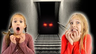 Amelia and Avelina visit the attic adventure