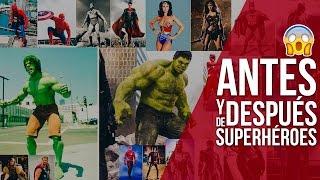 Antes y después de 20 superhéroes y villanos clásicos ¡OMG!!....