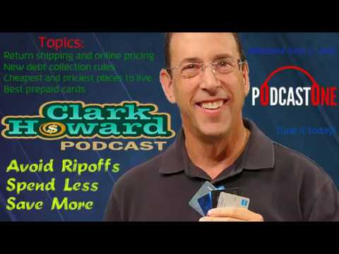 The Clank Howard Show: New debt collection rules (Save Money) ✱ Sept 5, 2016