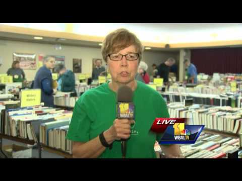 Video: Book sale proceeds benefit the Baltimore County Public Library