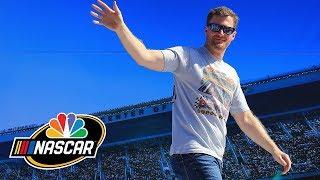 Dale Earnhardt Jr. takes on Ryan Blaney in pop culture quiz I NASCAR I NBC Sports