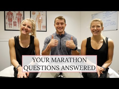 Your Marathon Questions Answered | INJURY | TRAINING | NUTRITION | MARATHON