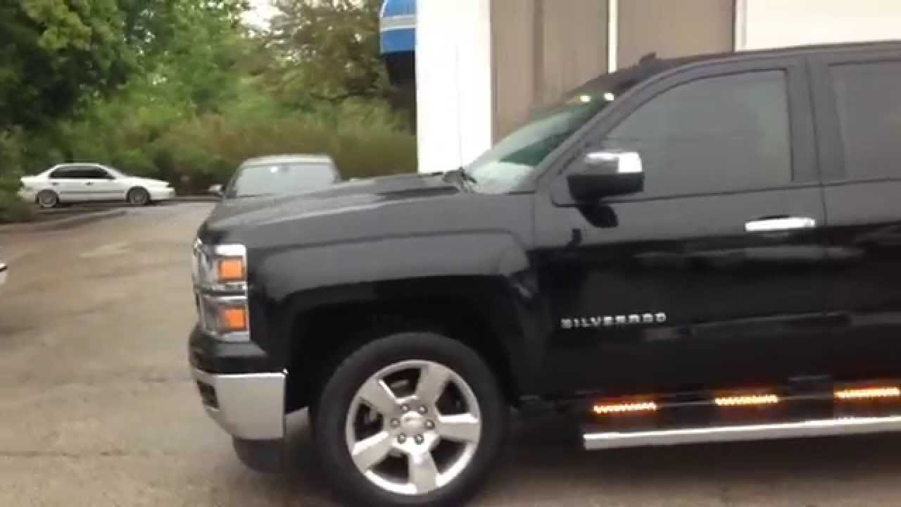 2014 Chevy Silverado Amber White Full Hg2 Emergency