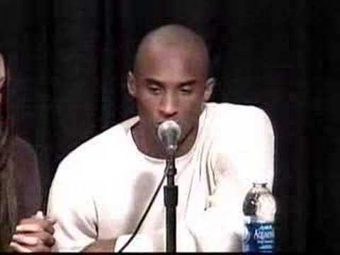 kobe claims innocence to sexual assault charges FULL VERSION