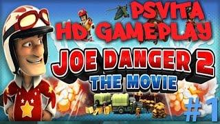 Joe Danger 2: The Movie PSVITA HD GAMEPLAY