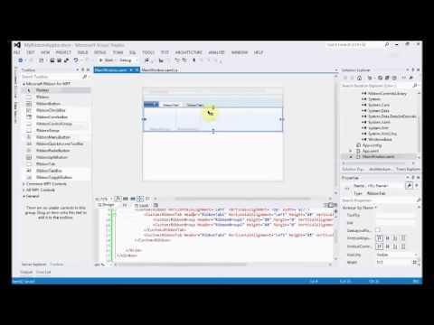 WPF Ribbon Application Tutorial for .NET 4.5