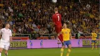 sweden england 4 2 insane bicycle goal zlatan ibrahimovic