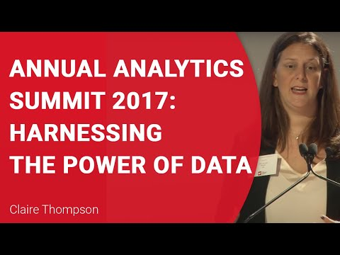 Annual Analytics Summit 2017: Harnessing the Power of Data