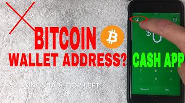 ✅  Where Is Cash App Bitcoin Wallet Address? 🔴