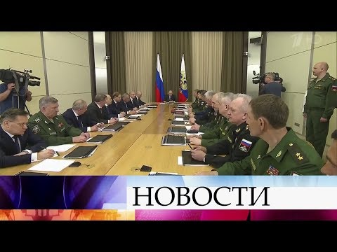 Владимир Путин проводит