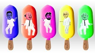 Colors Learn With Motu Patlu Vest Ice Cream Finger Family Song