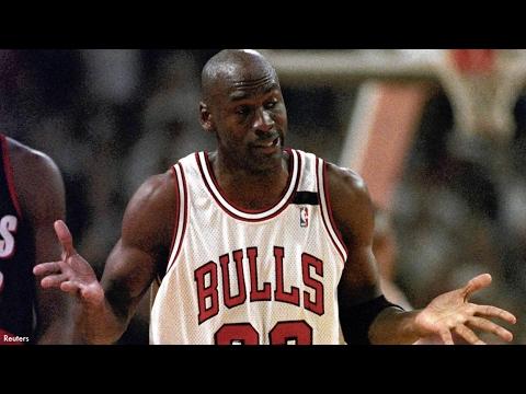 8bed9451c1a3 Michael Jordan vs Blazers (1992 NBA Finals Game 1) - 39 Pts