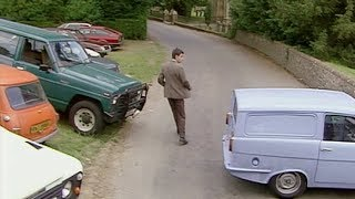 Mr Bean - Parken vor der Kirche