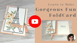 🔴A Gorgeous Fun Fold Card That Will Change Your Life
