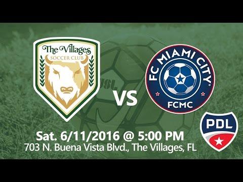 The Villages SC vs FC Miami City