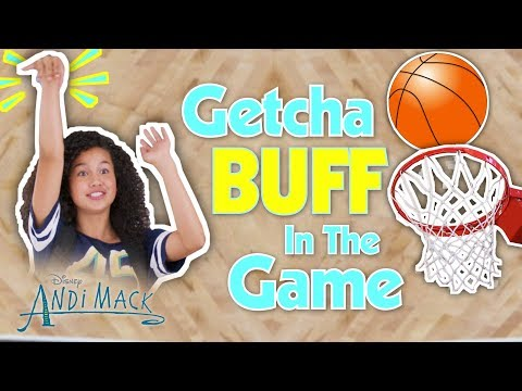 Getcha Head in the Game Music Video 🏀| Andi Mack | Disney Channel