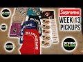 SUPREME WEEK 13 PICKUPS!! WATER SHORTS + ASH TRAYS & MORE