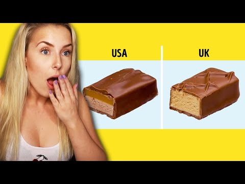 Foods That Are DIFFERENT Around The WORLD!