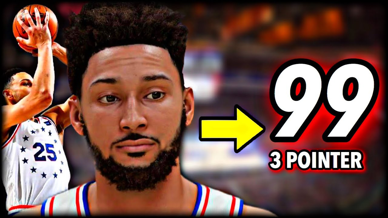 I Made BEN SIMMONS the GREATEST SHOOTER EVER…