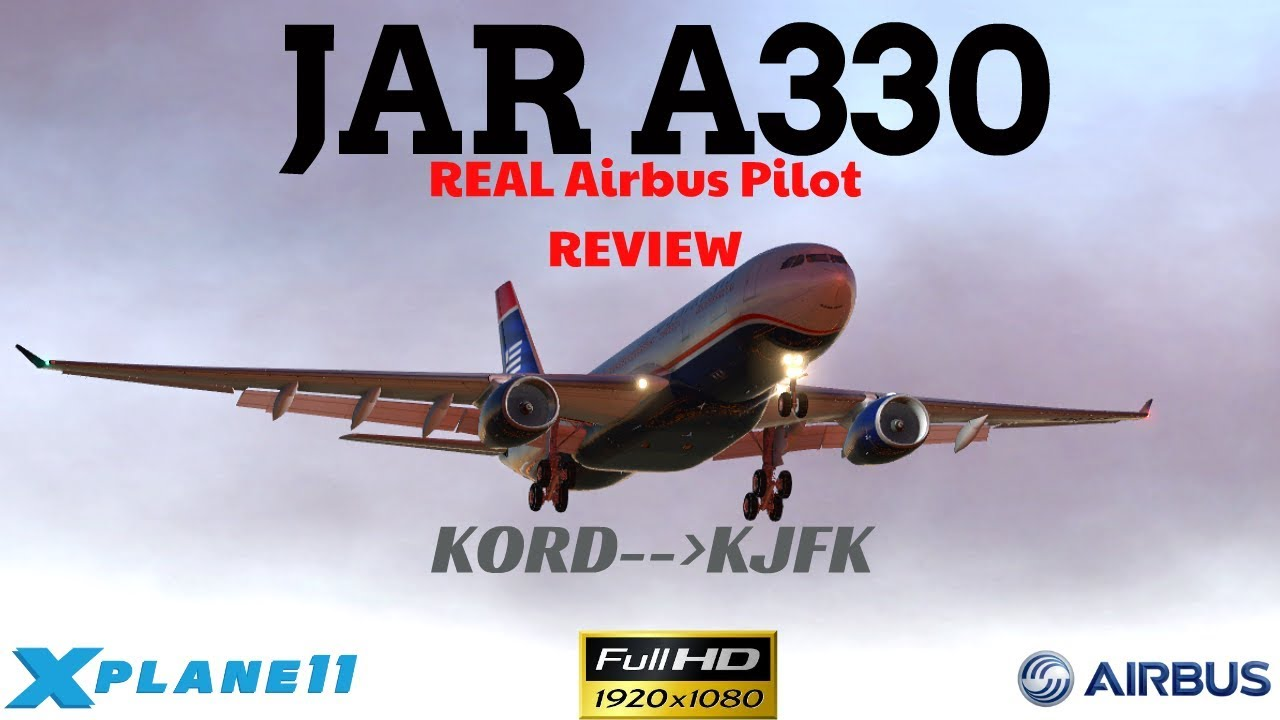 JAR A330 Heavy Airbus I Airbus Pilot LIVE I