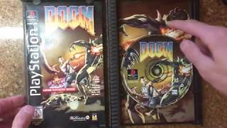 Doom Rigid long box Ps1 Unboxing