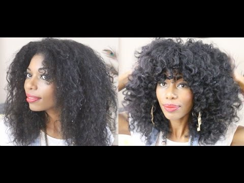 Natural Hairstyle How I Style My Layered Haircut Youtube