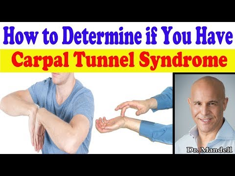 How to Determine if You Really Have Carpal Tunnel Syndrome - Dr Mandell, DC