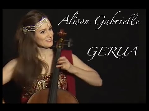 Gerua Dilwale Instrumental Cover Alison Gabrielle Bollywood cellist Acoustic multitrack Cello