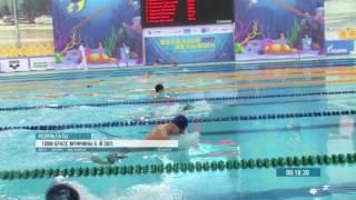 4 ЛИТВИНОВ Григорий 2003 II Республика Крым 100m Брасс. Весёлый дельфин