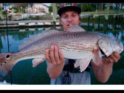 RED DRUM (redfish) And FLOUNDER FISHING For Inshore GIANTS In Rudee Inlet